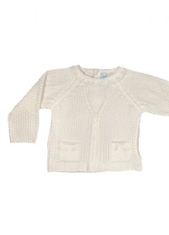 Pull en tricot manches longues