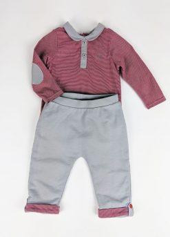 Ensemble 2 pièces pantalon chandail Cache-couches