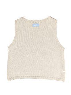 Chandail sans manche en trico image 2