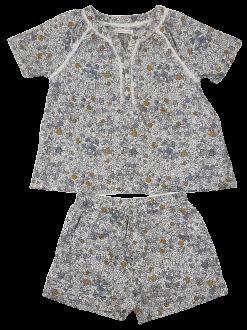 Ensemble chemise à manches courtes et short assorti image 1