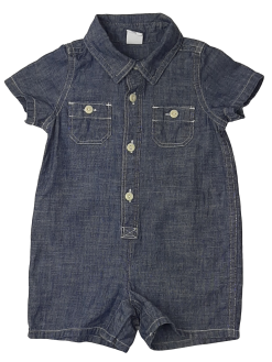 Combi-short en jean