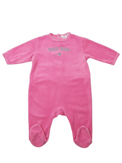 Pyjama à manches longues en velours image 1