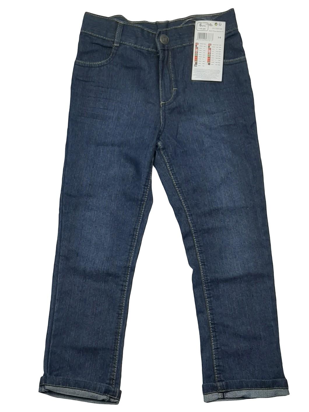 Pantalon jean bleu 1
