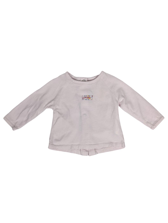 Tee-shirt boutonné dans le dos 1
