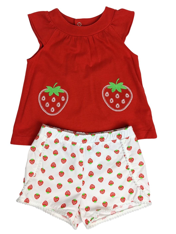 Ensemble 2 pieces petites fraises 1