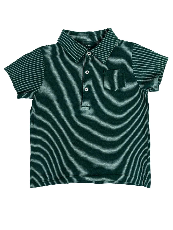Tee-shirt polo à rayures 1
