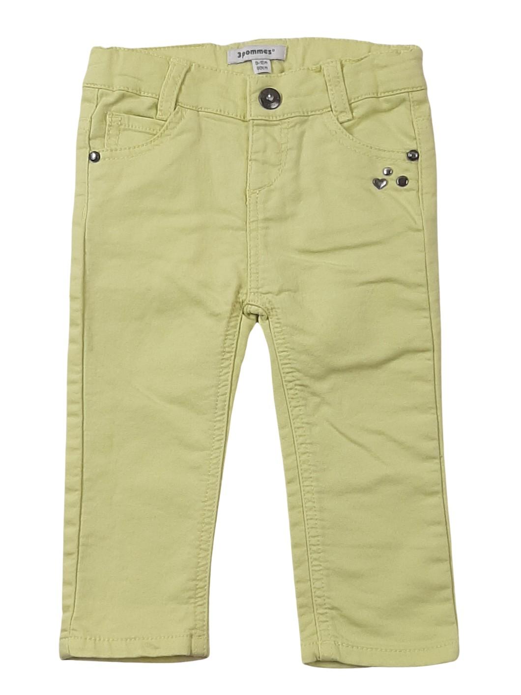 Pantalon sryle jean léger 1