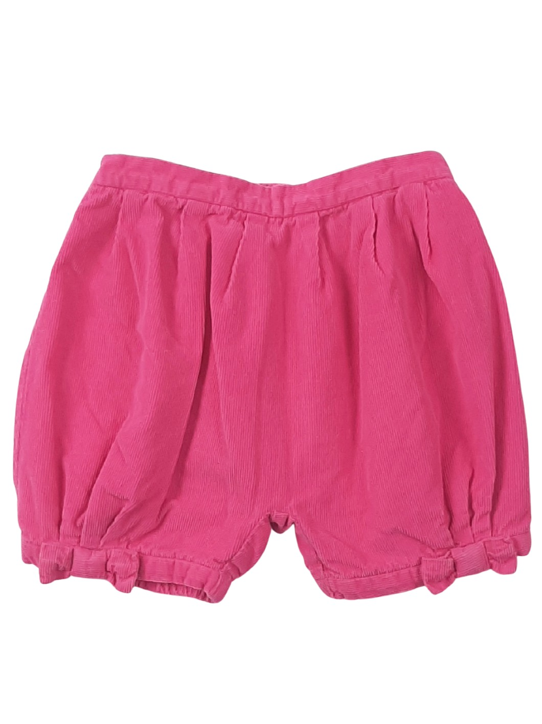 Short en velours doublé 1