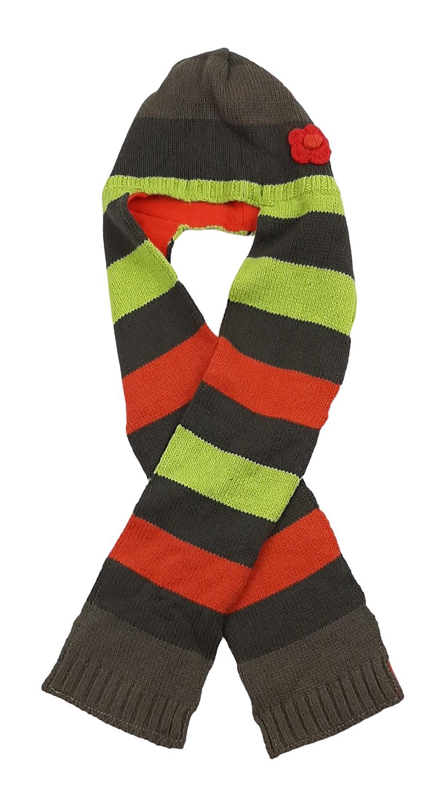 Bonnet/tuque avec écharpe intégrée taille 41 cm 1