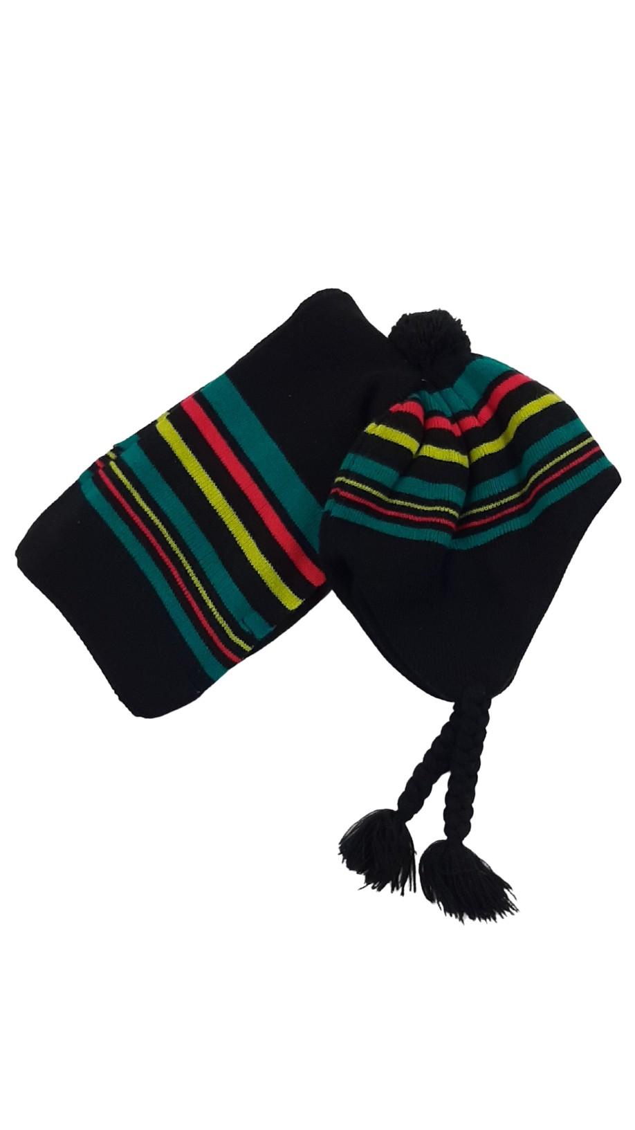 Bonnet/tuque et écharpe assortie taille 50 cm 1