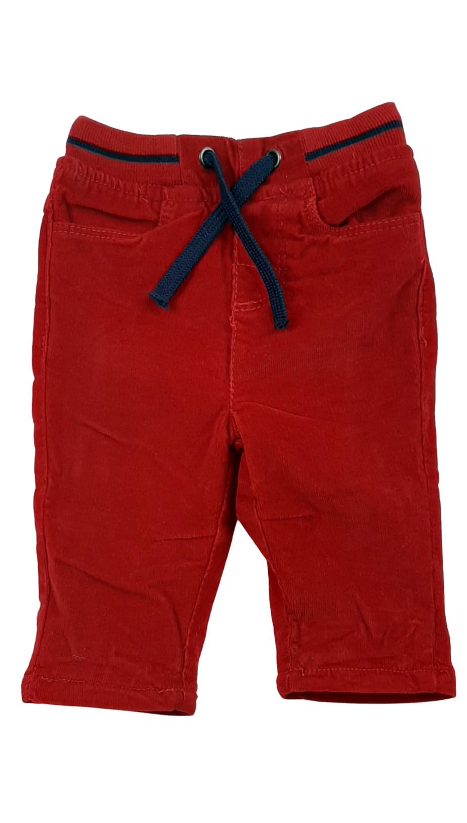 Pantalon en velours côtelé doublé 1