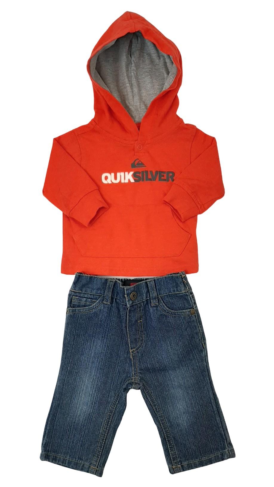 Ensemble 2 pièces : chandail et pantalon jean 1