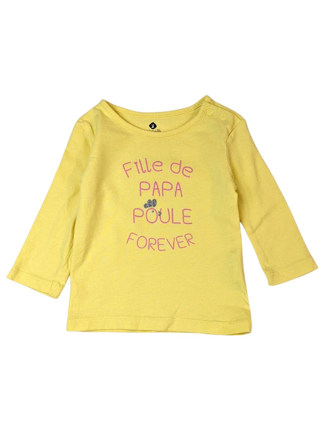 Tee-shirt poule 1