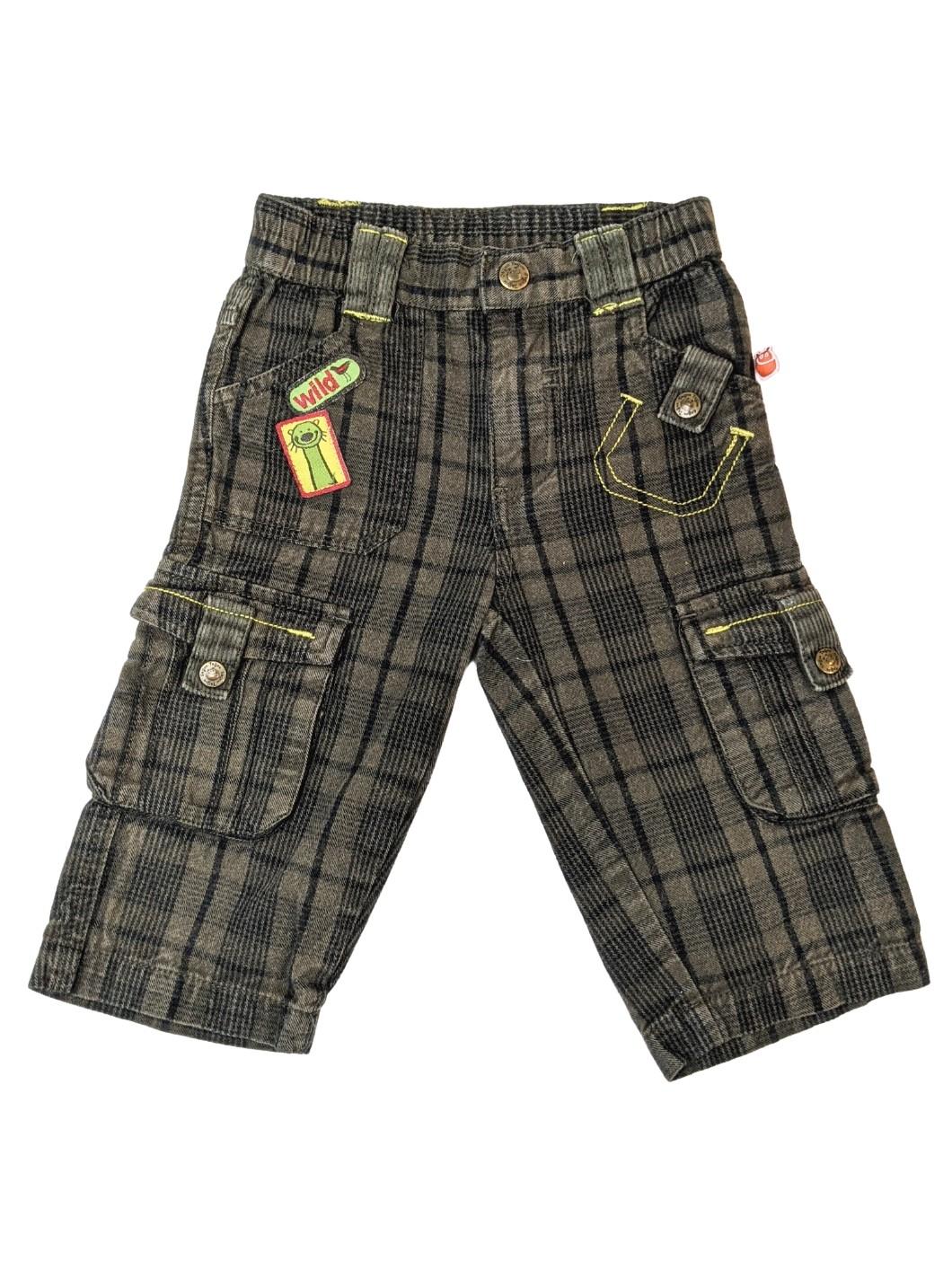 Pantalon à carreaux 1