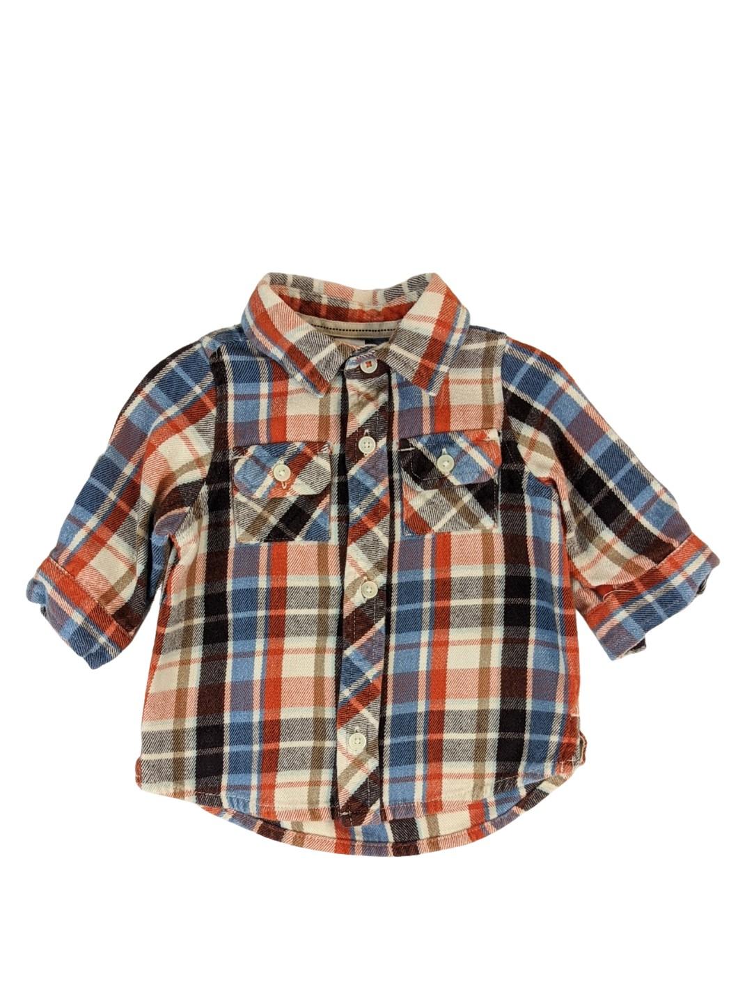 Chemise à carreaux 1