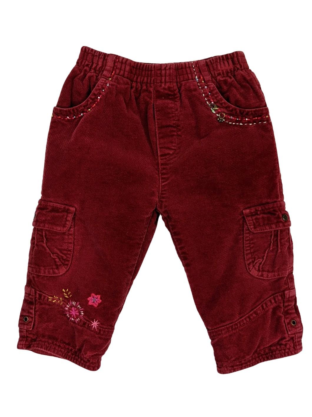 Pantalon en velour 1