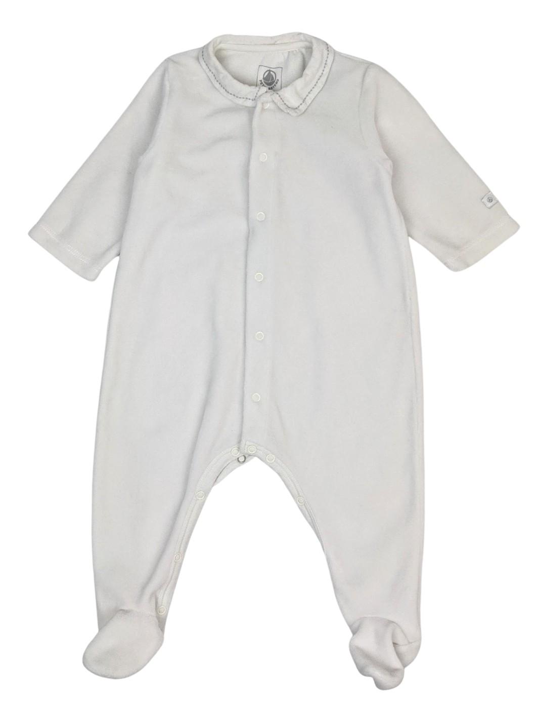 Pyjama en velours uni 1